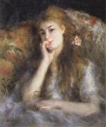 Young Woman Seated(The Thought)