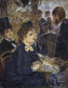 At the Cafe, Pierre Renoir