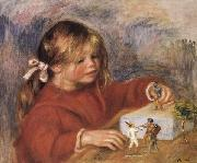 Coco Playing, Pierre Renoir