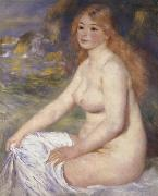 Blonde Bather, Pierre Renoir