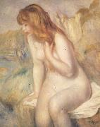 Bather on A Rock, Pierre Renoir