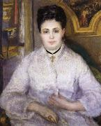 Pierre Renoir Madame Victor Chocquet oil painting reproduction