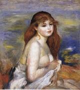After the Bath(Little Bather), Pierre Renoir