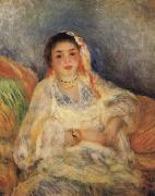 Algerian Woman Seated, Pierre Renoir
