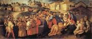 Pontormo The Adoration of the Magi oil painting reproduction