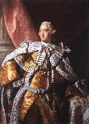RAMSAY, Allan Portrait of George III oil painting artist