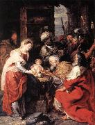 RUBENS, Pieter Pauwel Adoration of the Magi oil painting
