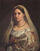 Raphael Portrait of a Woman oil painting reproduction