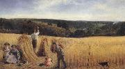 Richard Redgrave,RA The Valleys also stand Thick with Corn:Psalm LXV oil painting