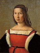 Ridolfo Ghirlandaio Portrait of a Lady oil painting