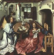 Robert Campin The Annunciation oil painting reproduction