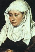 Robert Campin Portrait of a Lady oil painting reproduction