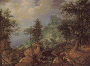 SAVERY, Roelandt Tyrolean Landscape oil painting reproduction