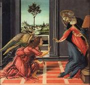 Sandro Botticelli The Annunciation oil painting reproduction