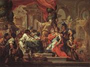 Sebastiano Conca Alexander the Great in the Temple at Jerusalem oil painting