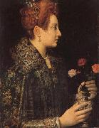 Sofonisba Anguissola A Young Lady in Profile oil painting