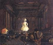 Walter Sickert Gatti's Hungerford Palace of Varieties:Second Turn of Katie Lawrence oil painting
