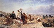William Havell Weston Sands in 1864 oil painting