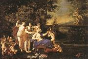 Albani  Francesco Venus Attended by Nymphs and Cupids oil painting reproduction