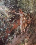 Anders Zorn Red sand oil painting on canvas