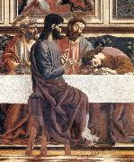 Last Supper (detail), Andrea del Castagno
