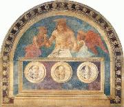 Christ in the Sepulchre with Two Angels, Andrea del Castagno