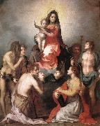 Madonna in Glory and Saints, Andrea del Sarto
