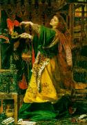 Anthony Frederick Augustus Sandys Morgan Le Fay (Queen of Avalon) oil painting artist