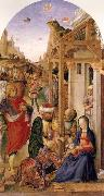 BASTIANI, Lazzaro The Adoration of the magi oil painting reproduction