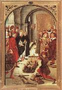 Scenes from the Life of Saint Dominic:The Burning of the Books, BERRUGUETE, Pedro