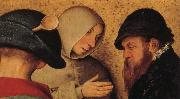 BRUEGEL, Pieter the Elder Details of Peasant Wedding Feast oil painting reproduction