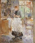 In the Dining Room, Berthe Morisot
