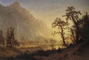 Bierstadt Albert Sunris,Yosemite Valley