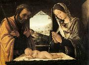 COSTA, Lorenzo Nativity oil painting reproduction