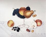 Fruit in a Glass Compote