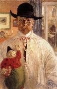 Self-Portrait, Carl Larsson