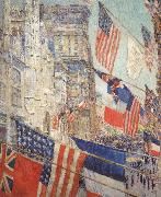 Allies Day,May 1917, Childe Hassam