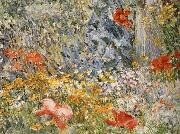 In the Garden Celia Thaxter in Her Garden, Childe Hassam