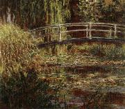 Water Lily Pool,Harmony in Pink, Claude Monet