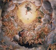 Assumption of the Virgin,detail of the cupola, Correggio