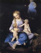 Madonna and Child with the Young Saint John, Correggio