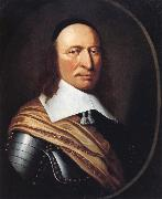 Couturier Henri Governor Peter Stuyvesant oil painting