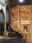 DIANA, Benedetto Pulpit oil painting reproduction