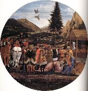 DOMENICO VENEZIANO The Adoration of the Magi oil painting reproduction