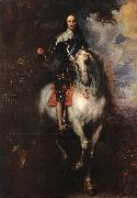 Equestrian Portrait of Charles I, King of England, DYCK, Sir Anthony Van