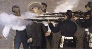 Details of The Execution of Maximilian, Edouard Manet