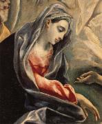 Details of The Burial of Count Orgaz, El Greco