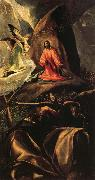 El Greco Agony in the Garden oil painting reproduction