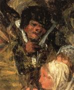 Details of The Burial of the Sardine, Francisco Goya