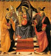 Madonna and Child Enthroned with Saints, GHIRLANDAIO, Domenico